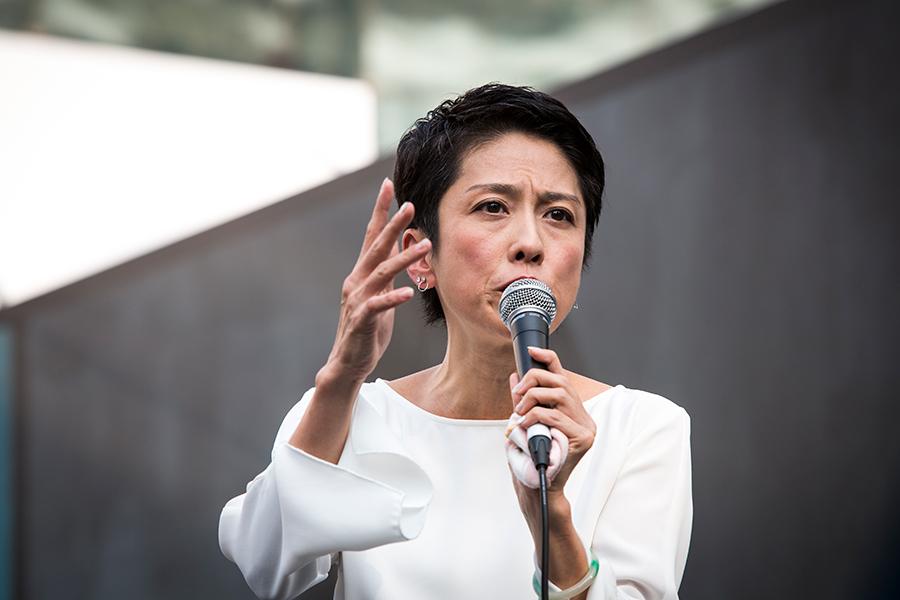 蓮舫氏の長男・村田琳、「半沢直樹」女性政治家に「ああ、これお母さんだなと思った」