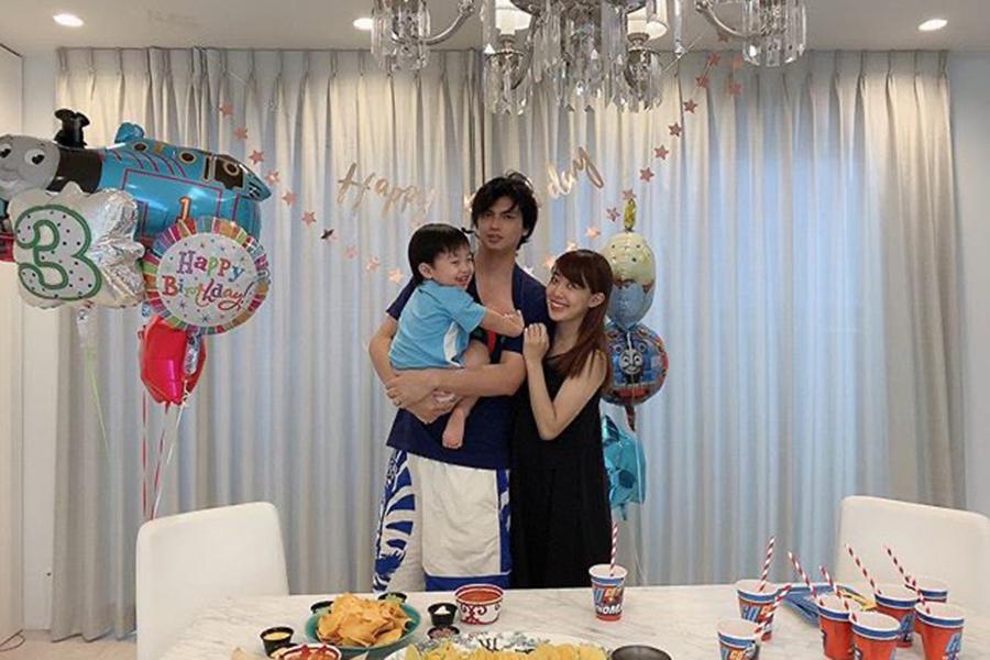 川崎希&アレク&3歳長男の3S【写真:インスタグラム(@kawasakinozomi)より】