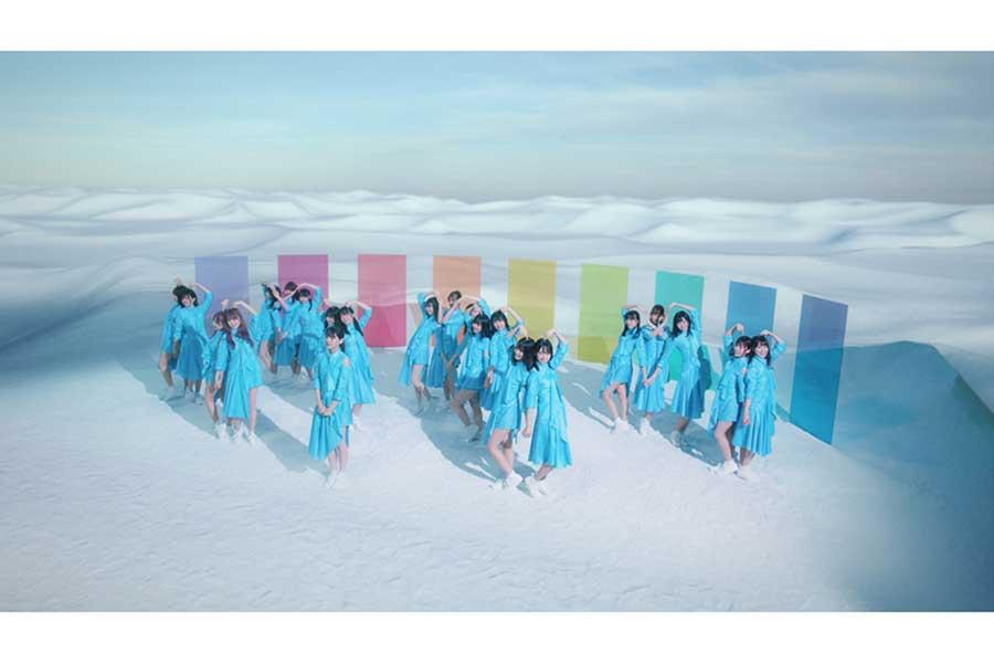 「日向坂46」アルバムリード曲「アザトカワイイ」の場面カット【掲載:ENCOUNT編集部】