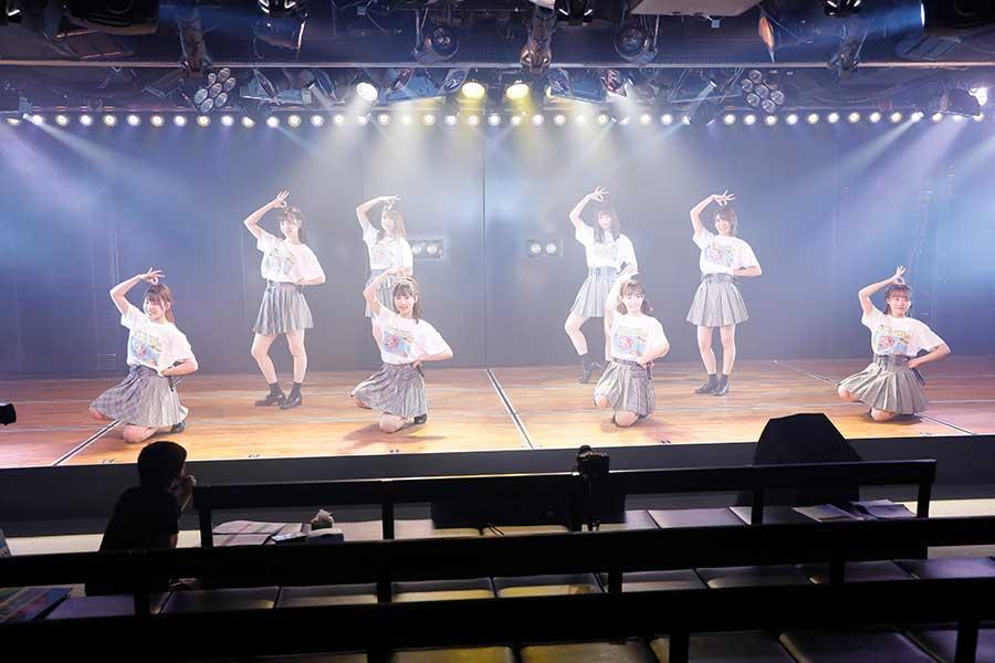 毎年恒例のお祭りイベント「8月8日はエイトの日」を開催した「AKB48」チーム8【写真:(C)AKB48】