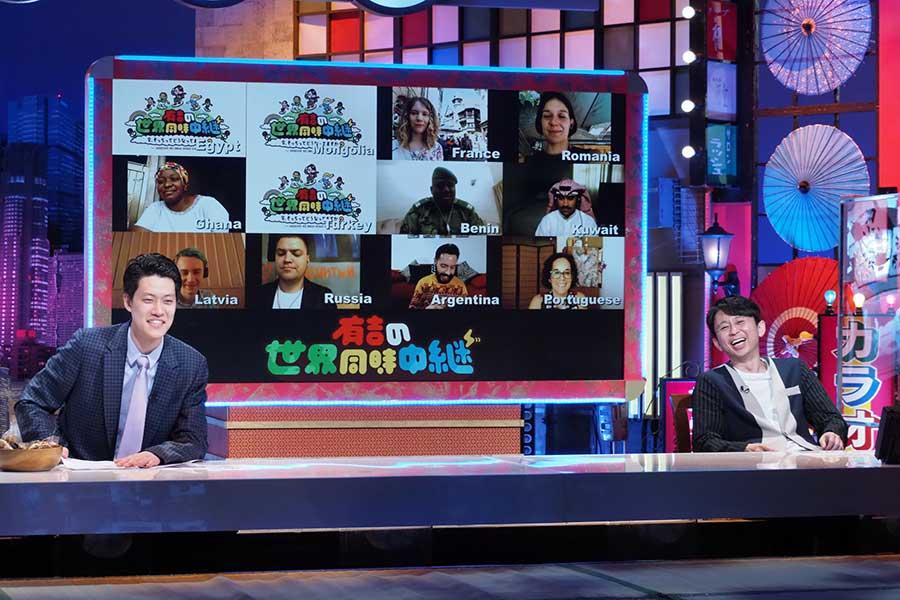 MCはお笑い芸人の有吉弘行、ゲストに「霜降り明星」粗品も登場する【写真:(C)テレビ東京】