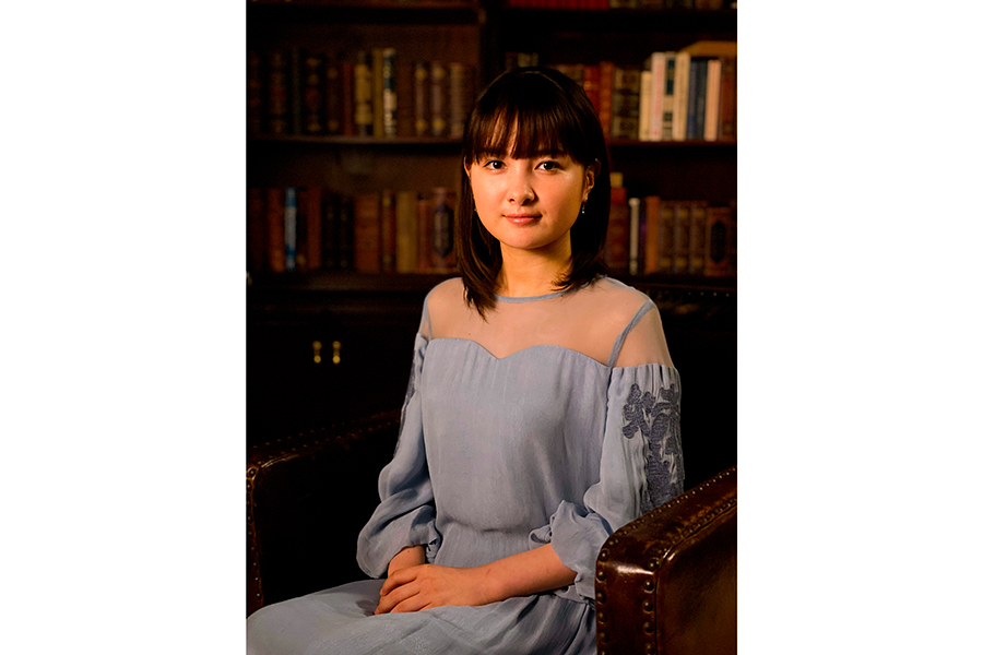 NHK朗読ドラマ「リアルプリンセス」に出演する葵わかな【写真:(C)NHK】