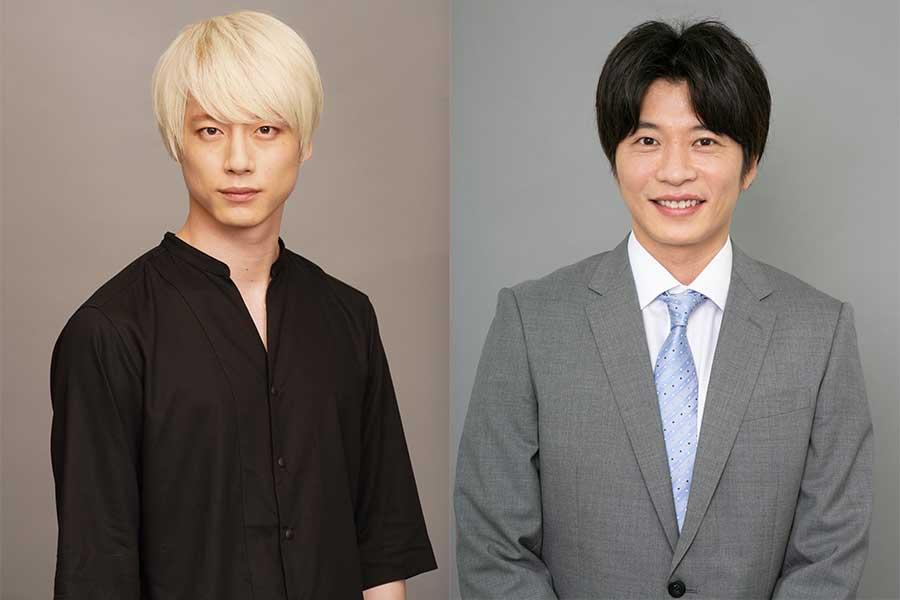 坂口健太郎(左)と田中圭【写真:(C)日本テレビ】
