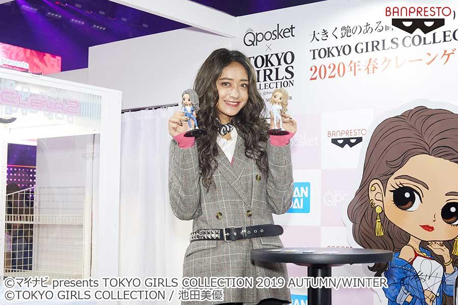 池田美優【写真:(C)TOKYO GIRLS COLLECTION】