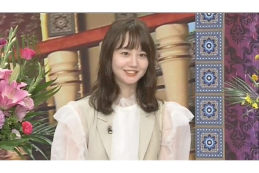 「踊る!さんま御殿!!」に出演するNANAMI【写真:(C)日本テレビ】
