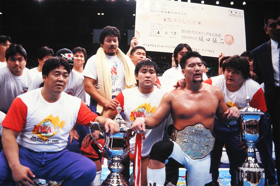 【プロレスこの一年 #7】真夏の祭典「G1クライマックス」蝶野正洋が初優勝した91年の第1回をプレイバック