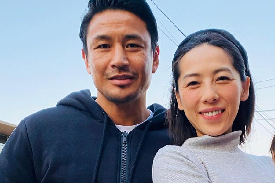 魔裟斗&矢沢心夫妻【写真:インスタグラム(@masato.official)より】