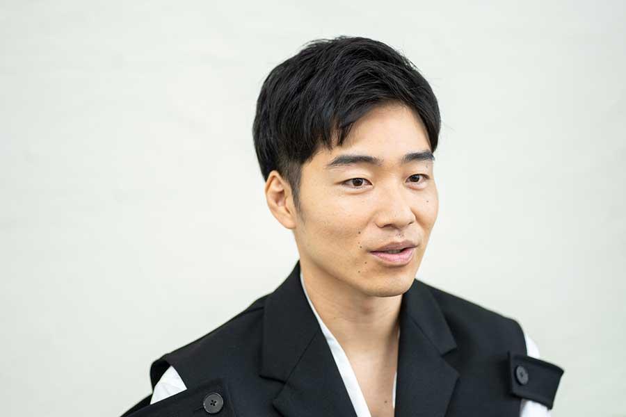 インタビューに応じた後藤淳平【写真:荒川祐史】