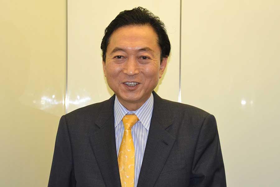 鳩山由紀夫元首相【写真:Getty Images】