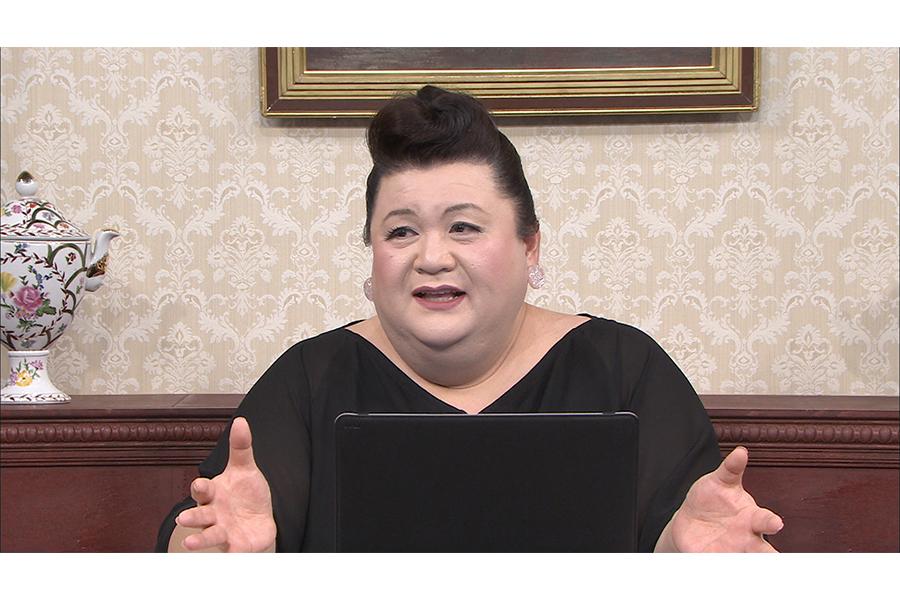 J.Y.Parkのパーソナルな部分に切り込んだマツコ【写真:(C)日本テレビ】