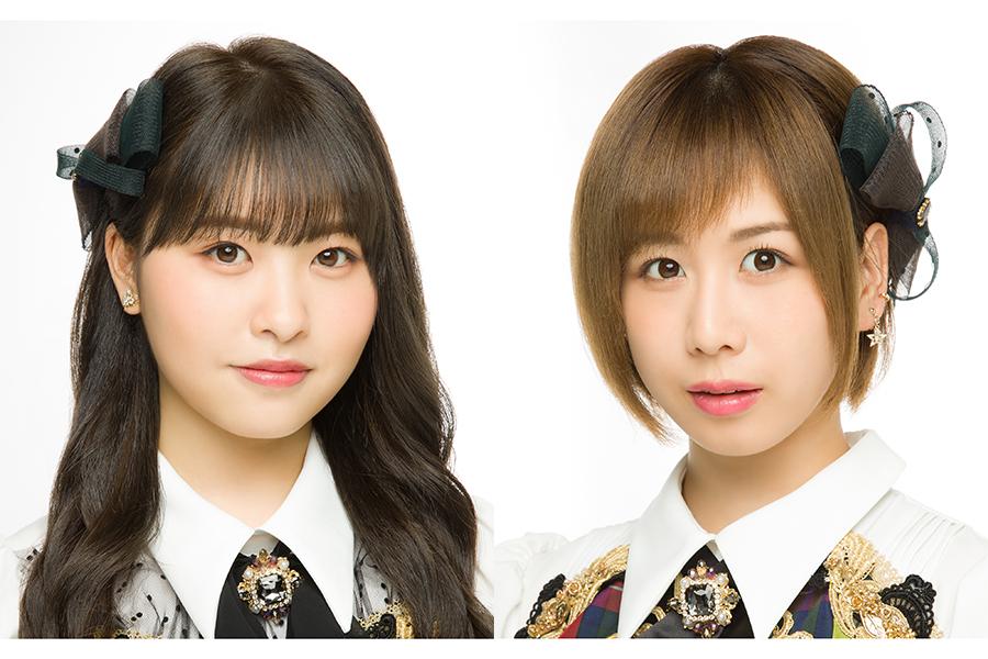 「AKB48」の大家志津香(右)と中西智代梨が「M-1」に挑戦【写真:(C)AKB48】