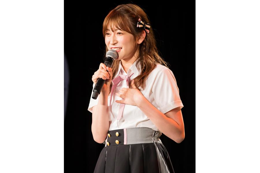 大阪城ホールでの卒業コンサートが決まった吉田朱里【写真:(C)NMB48】