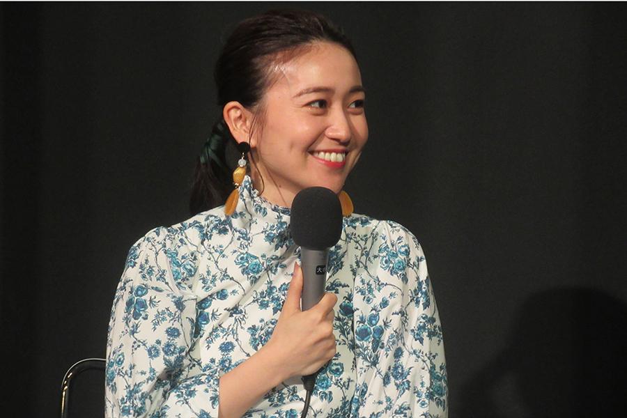 大島優子が都内で行われたトークショーに登壇【写真:ENCOUNT編集部】
