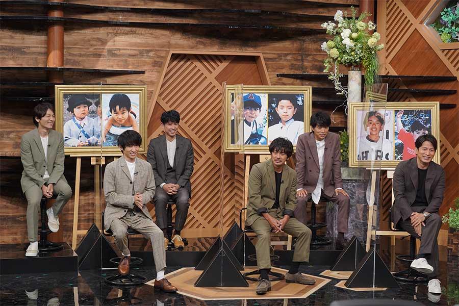 19日放送の「嵐にしやがれ2時間スペシャル」では「記念館」のコーナーにV6が登場【写真:(C)日本テレビ】