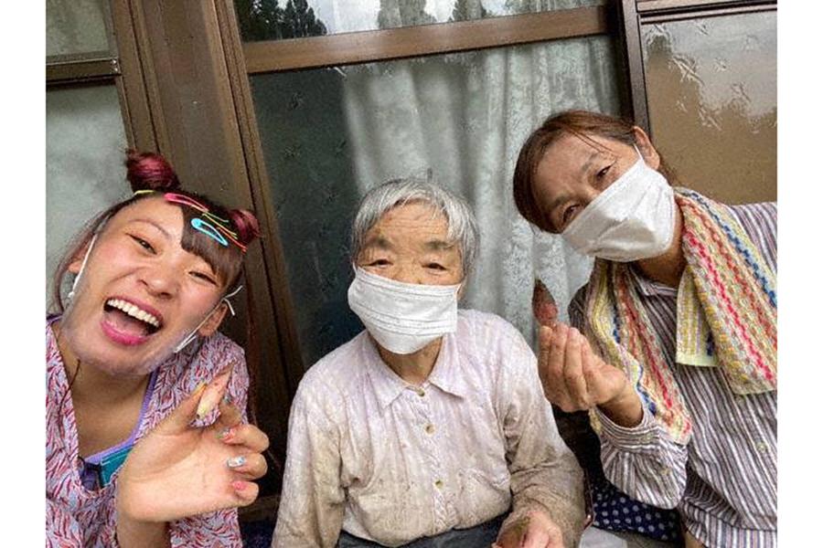 ロケリポーターを務める丸山桂里奈とフワちゃんの感想が届いた【写真:(C)フジテレビ】