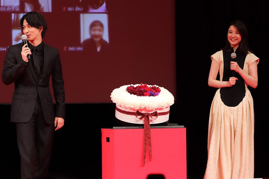 誕生日直前の横浜流星、吉高由里子とファンのサプライズに「こんな幸せなことはないです」