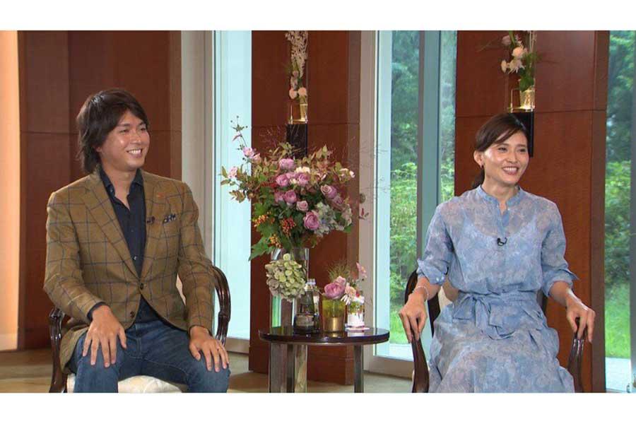 「ボクらの時代」に出演した宮崎謙介と金子恵美夫婦【写真:(C)フジテレビ】