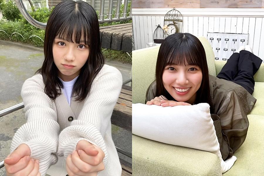 「アザトカワイイ動画」を公開した渡邉美穂(左)と河田陽菜