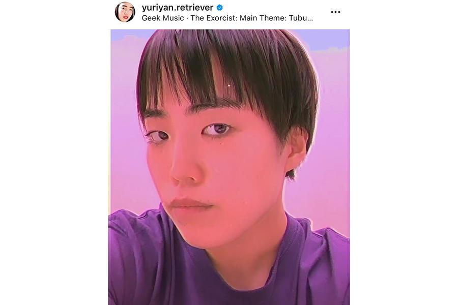 髪を切ったゆりやんレトリィバァ【写真:ENCOUNT編集部】