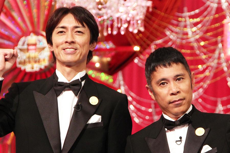 「ナインティナイン」の矢部浩之(左)と岡村隆史【写真:Getty Images】