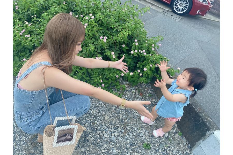18歳のギャルママ聖菜が離婚後初ブログ 「心新たに蘭愛と一緒に」「母娘LIFEを投稿」