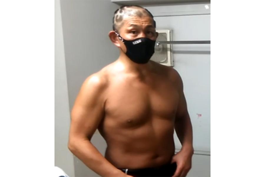 鈴木みのる【撮影:柴田惣一】