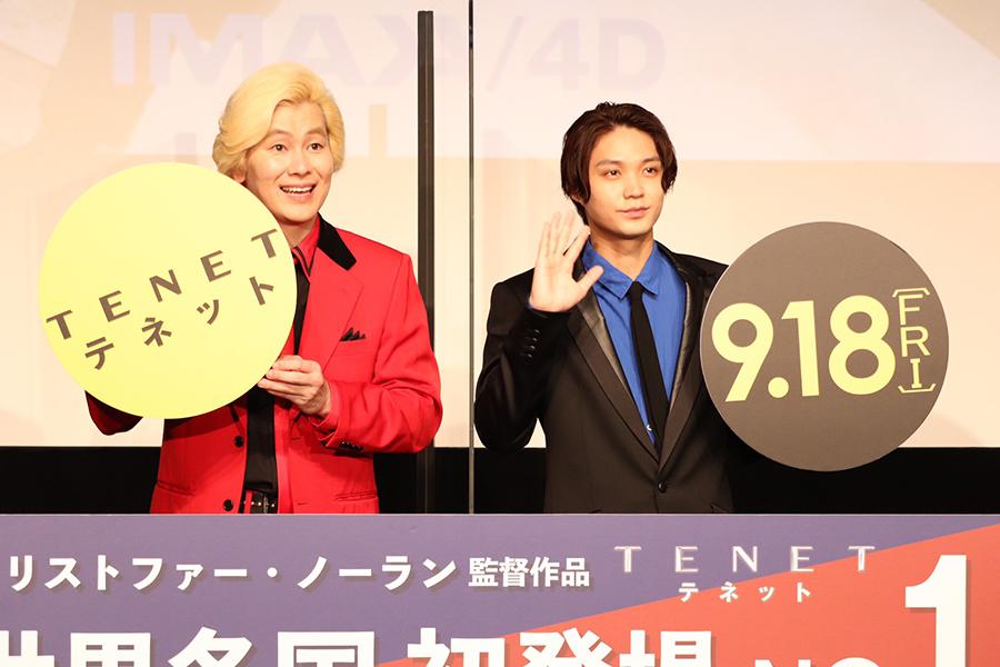 カズレーザー&磯村勇斗「TENET」の世界観に陶酔「脳が追いつかない」「2キロ痩せた」