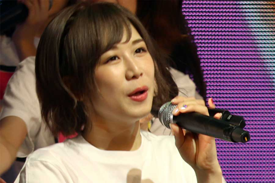 「AKB48」の大家志津香【写真:ENCOUNT編集部】