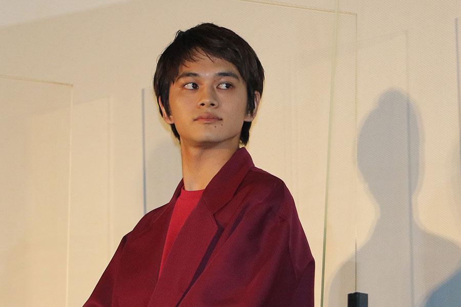 映画「とんかつDJ アゲ太郎」の初日舞台あいさつに登壇した北村匠海【写真:ENCOUNT編集部】