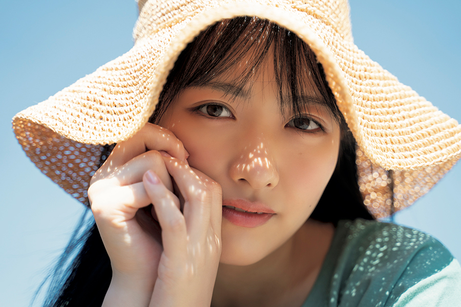 「STU48」の石田千穂【撮影:YOROKOBI】