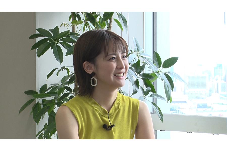 フジテレビの宮司愛海アナウンサー【写真:(C)フジテレビ】