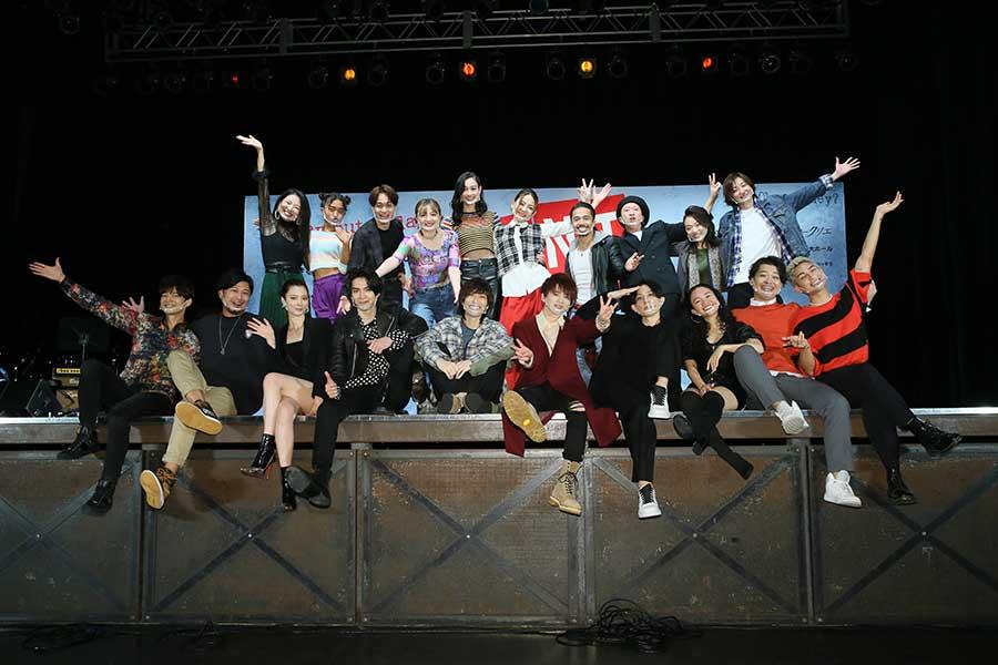 「Da-iCE」の花村想太が主演するミュージカル「RENT」の制作発表が行われた