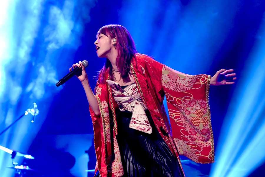「SONGS」に出演するLiSA【写真:(C)NHK】