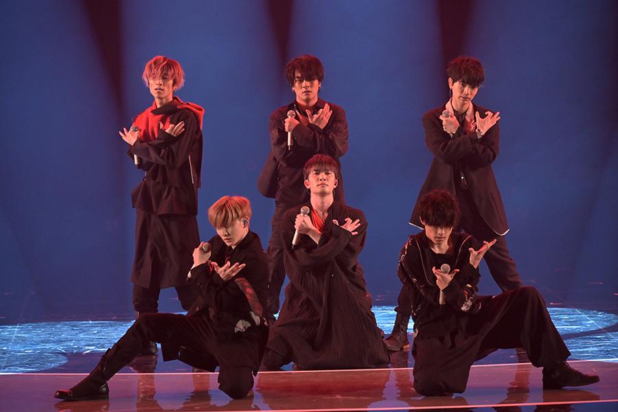 「今年1月にメジャーデビューしたSixTONES」【写真:(C)NHK】