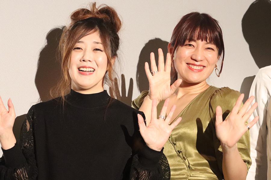 日本エレキテル連合が映画デビューも、今後の女優業は「ダメよー、ダメダメ!」
