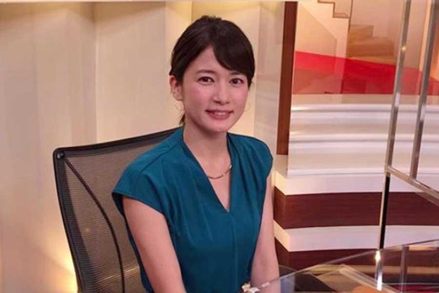 TBSの宇内梨沙アナウンサー【写真:インスタグラム(@risaunai)より】
