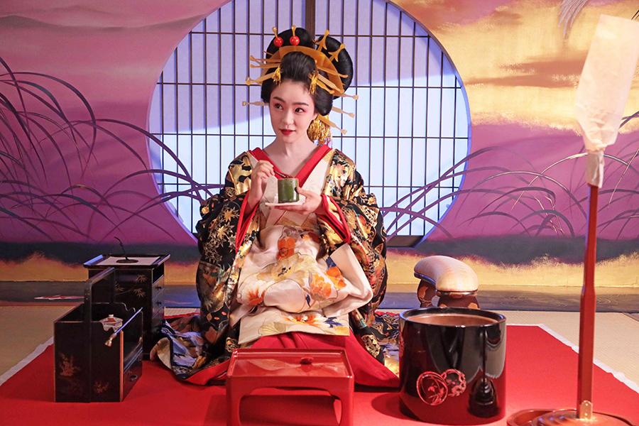 「みをつくし料理帖」で吉原一の花魁を演じた奈緒【写真:(C)2020 映画「みをつくし料理帖」製作委員会】