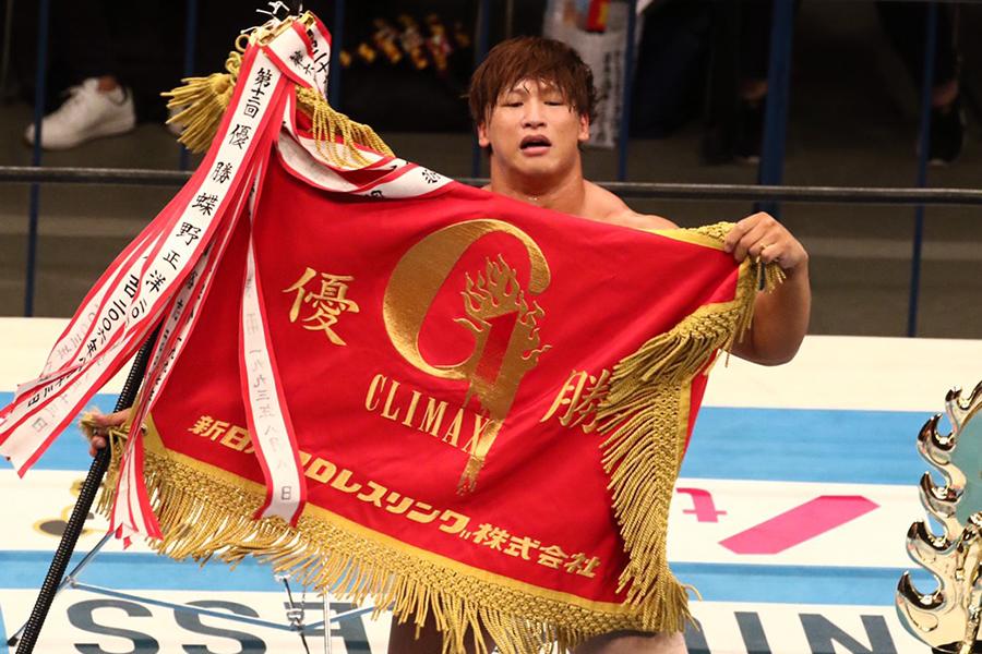 飯伏幸太が新日本プロレスG1でV2を達成、有言実行で「本物の神」になった