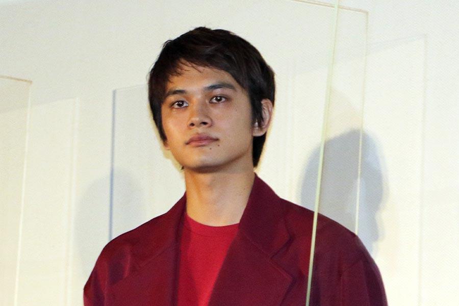 映画「とんかつDJ アゲ太郎」初日舞台あいさつに登場した北村匠海
