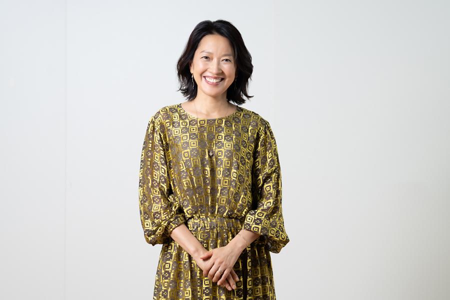 羽田美智子が50代を迎えた今の幸せについて語った【写真:荒川祐史】