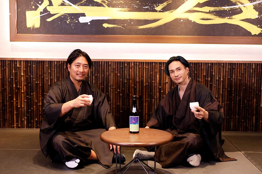 EXILE橘ケンチ×松本酒造のオンラインイベント開催