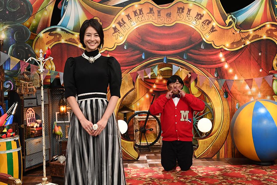 「アニマルエレジー」で夏目アナと上杉みちが初タッグ【写真:(C)テレビ朝日】