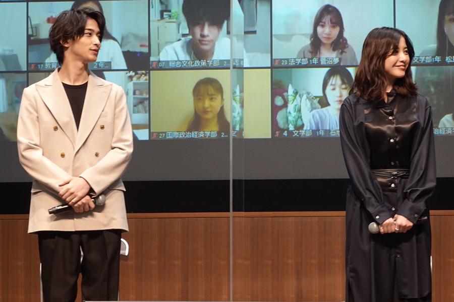 吉高由里子「人見知りだった」横浜流星「ポンコツです」 青学生に真剣アドバイス送る