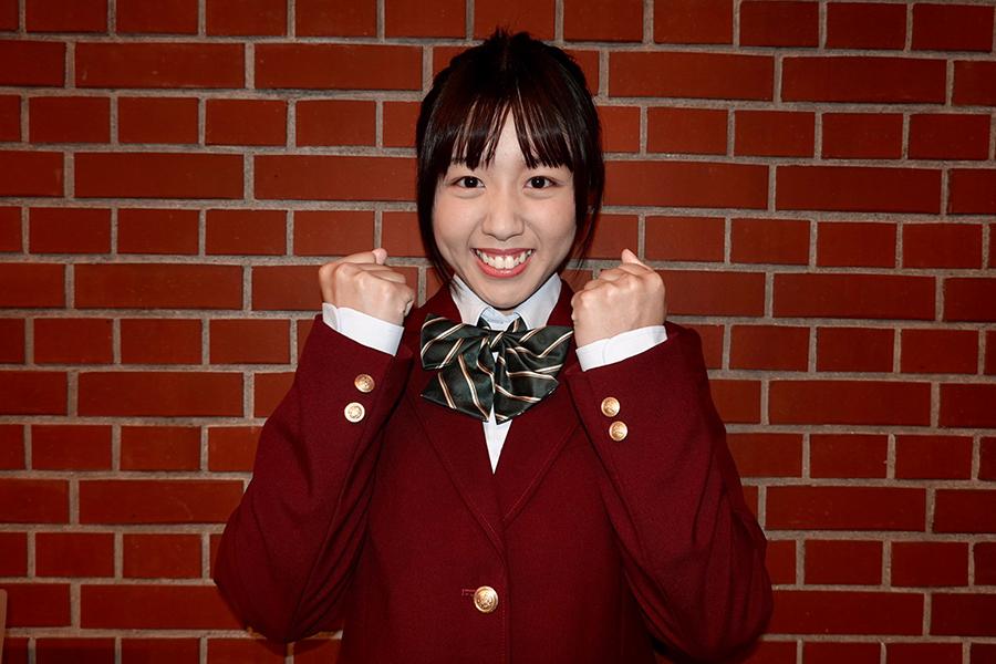 「横浜少女歌劇団」のリーダー野津まりな【写真:ENCOUNT編集部】