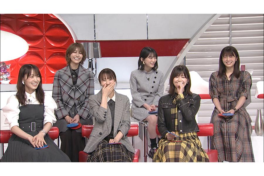 最後のバラエティー出演となった欅坂46【写真:(C)日本テレビ】