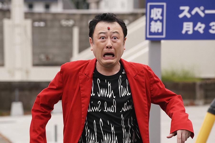 ドラマ初出演のコウメ太夫【写真:(C)フジテレビ】