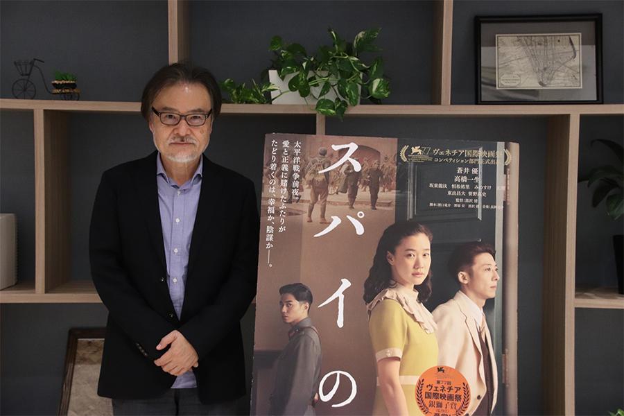 黒沢清監督【写真:(C)活弁シネマ倶楽部】