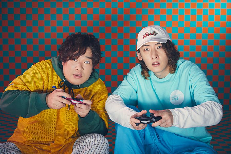 ビッケブランカ(右)と岡崎体育【写真:(C)ニッポン放送】