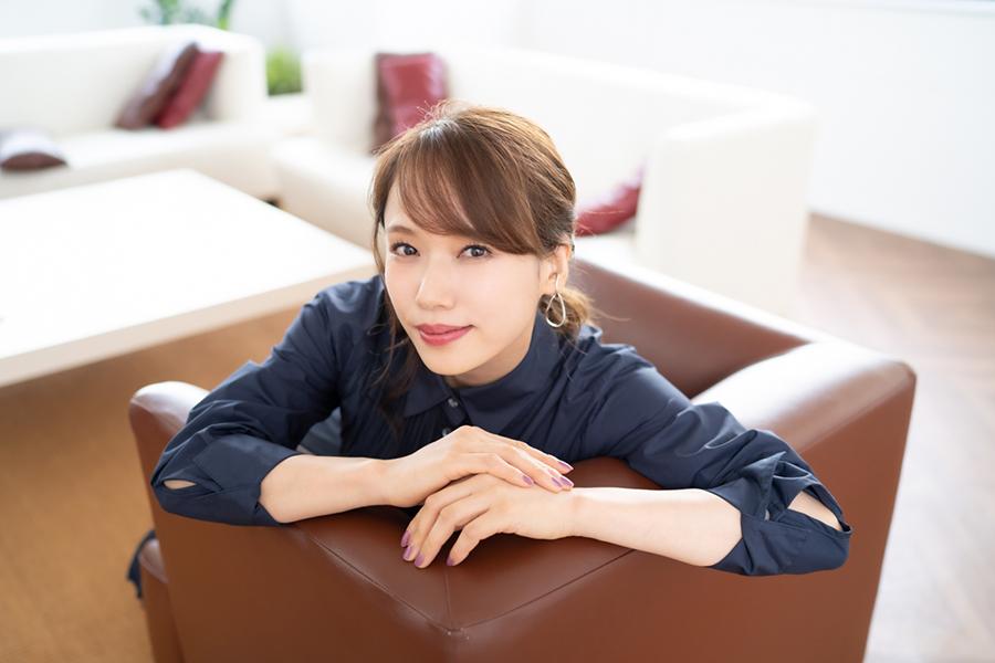 芸能活動20周年を迎えるソニン【写真:荒川祐史】