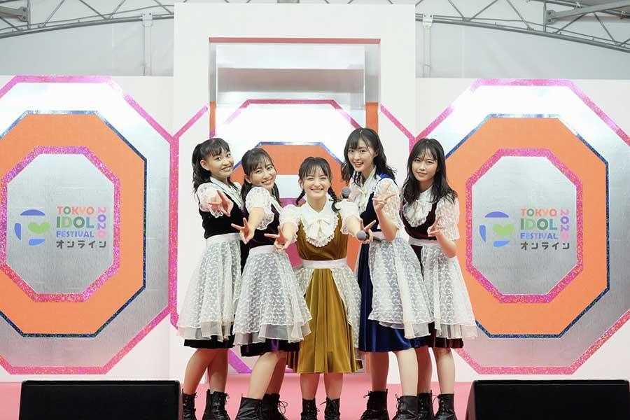 TOKYO IDOL FESTIVAL オンライン 2020に出演した「たこやきレインボー」
